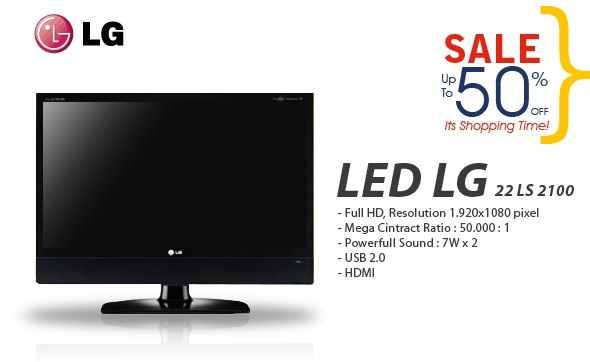 Picture Of LG 22inch 22LS2100 HD EDGE LED TV ...