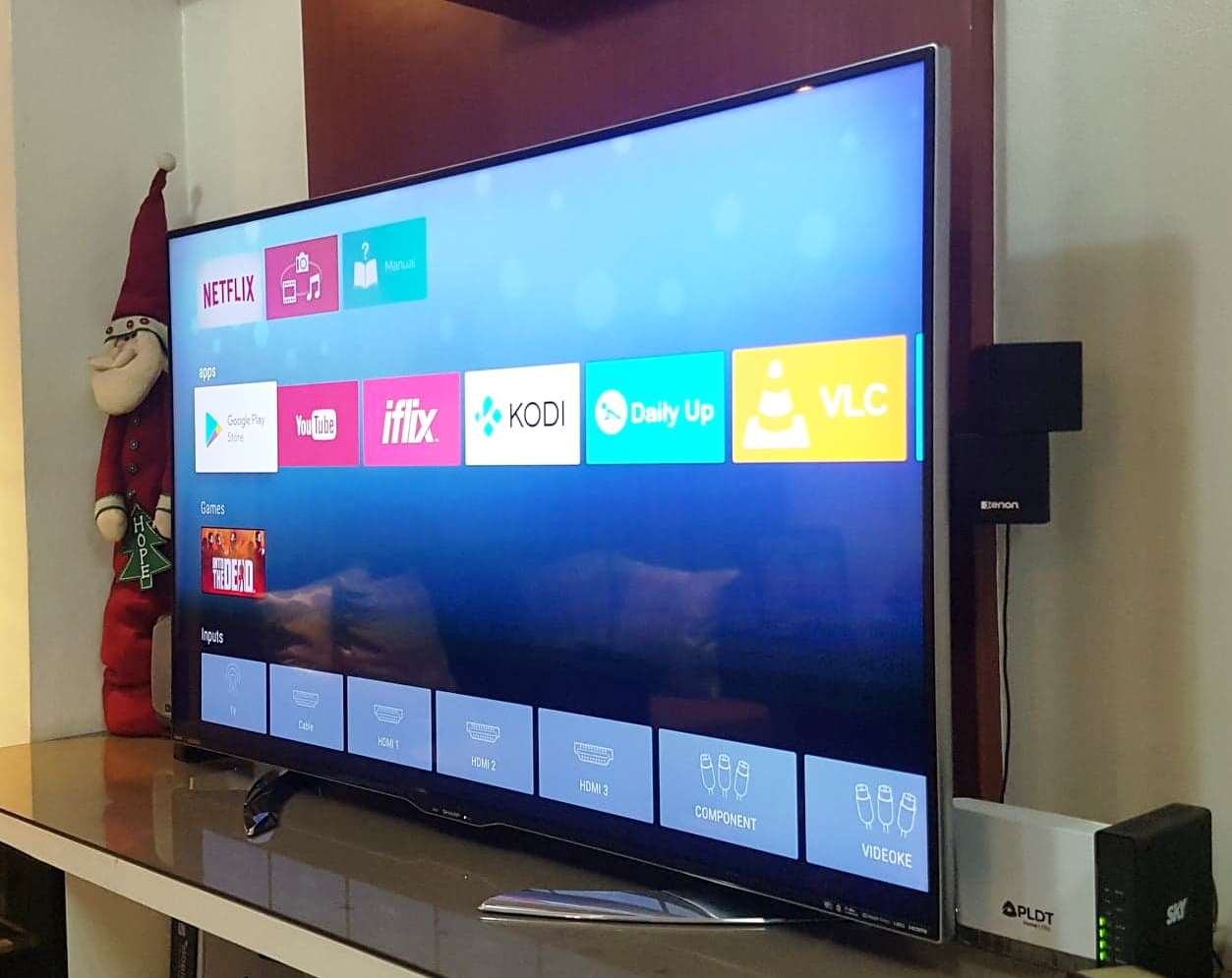 Sharp Aquos 58inch 4K UHD Android TV Complete